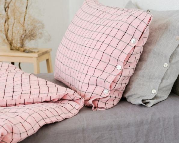 bed-linen-art-ll518t-100-linen-pink-black-checks-pillowcase-50x70-duvet-cover-140x200-with-buttons-2_1573556614-afecd82adb4acfff42bfe9445d2b1b7a.jpg